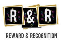 Reward And Recognition Blue Grey Blocks Stock Illustration ...