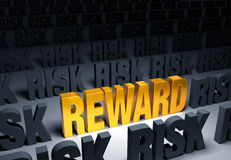 Reward In Risk Royalty Free Stock Photos