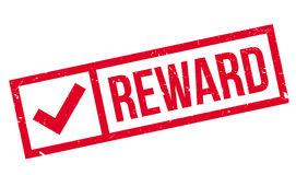 Reward rubber stamp Stock Images