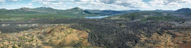Rewarding views of Little valley lakes Stock Photos