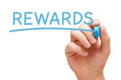 Rewards Blue Marker Stock Photos