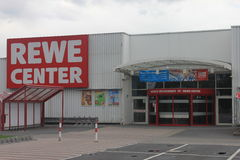 Rewe Center Rodgau royalty free stock photos