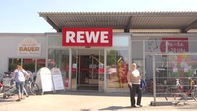 Rewe stock video