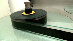 Rewinding reel of old film. This is footage Rewinding reel of old film stock video footage
