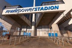 Rewirpowerstadion Bochum. Bochum, Germany - October 11, 2015: Rewirpowerstadion (or Ruhrstadion), home ground of German football team VfL Bochum Stock Photos