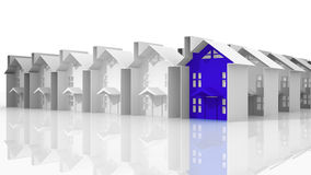 Rewizja dla stosownego budynek mieszkalny Obraz Stock