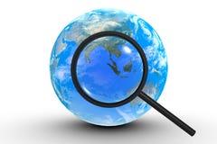 Rewizja na ziemi Zdjęcie Royalty Free