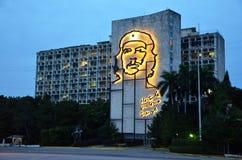 Rewolucja kwadrat Guevarra i Che, Hawański obrazy stock