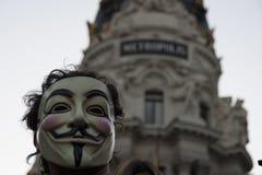 Rewolucja Społeczna Fotografia Stock