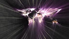 Rewolucja technologie informacyjne nad światem Obraz Royalty Free