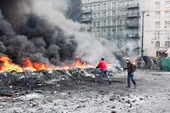 Rewolucja Ukraina Zdjęcia Royalty Free