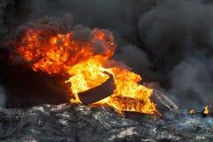 Rewolucja w Ukraina. Obrazy Royalty Free