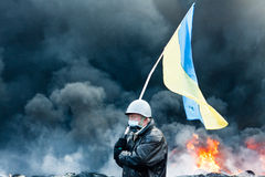 Rewolucja w Ukraina. Zdjęcia Stock