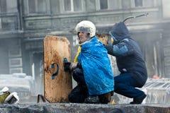 Rewolucja w Ukraina. Obraz Royalty Free