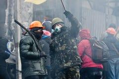 Rewolucja w Ukraina. Fotografia Royalty Free
