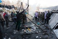 Rewolucja w Ukraina. Zdjęcia Royalty Free