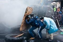 Rewolucja w Ukraina. fotografia stock