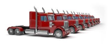 Rewolucjonistek ciężarówki royalty ilustracja