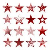 Rewolucjonistek gwiazdy royalty ilustracja