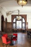Rewolucjonistek krzesła W Pustej restauraci Zdjęcia Stock