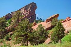Rewolucjonistek skał krajobraz Fotografia Stock