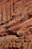 Rewolucjonistek skały w zimie Obrazy Royalty Free