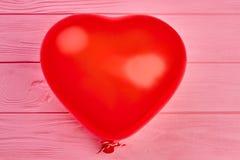 Rewolucjonistka balon w kształcie serce Obrazy Royalty Free