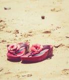 Rewolucjonistka buty na plaży Obraz Stock