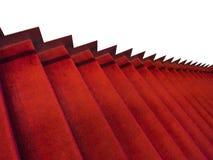Rewolucjonistka carpeted schody Obraz Royalty Free