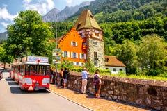 Rewolucjonistka dom w Liechtenstein Zdjęcie Stock