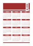 Rewolucjonistka francuza 2019 kalendarz ilustracji