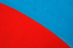 Rewolucjonistka i błękitny akrylowego żywicy podłoga tło Obrazy Stock