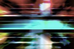 Rewolucjonistka i błękitny prędkości plamy tło Obraz Royalty Free