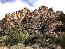 Rewolucjonistka jaru konserwaci Rockowy teren, Nevada, usa fotografia royalty free