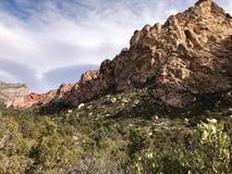 Rewolucjonistka jaru konserwaci Rockowy teren, Nevada, usa obrazy royalty free
