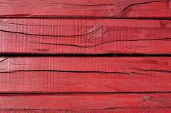 Rewolucjonistka krakingowy drewniany abordaż Obrazy Royalty Free