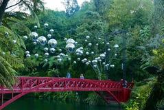 Rewolucjonistka most nad jeziorem obrazy royalty free