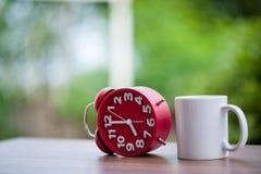 Rewolucjonistka zegar na stole Fotografia Stock