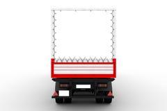 Rewolucjonistki i bielu ciężarówka ilustracja wektor