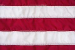 Rewolucjonistki i bielu lampasy na flaga amerykańskiej Fotografia Stock