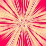 Rewolucjonistki i yelow sunburst abstrakta tło Zdjęcie Royalty Free