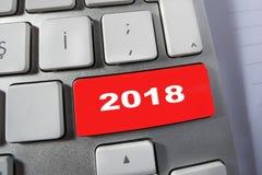 Rewolucjonistki 2018 klucz na klawiaturze Fotografia Stock