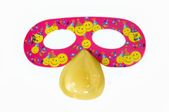 Rewolucjonistki maska dla przyjęcia i karnawału Zdjęcie Stock