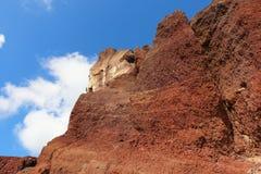 Rewolucjonistki Plaża, Santorini Zdjęcie Stock