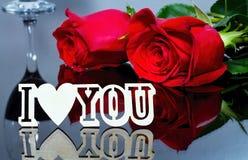 Rewolucjonistki róża jako przedstawienie miłość dla walentynki ` s dnia Walentynki ` s dnia pojęcie Miłość, harmonia, pokój w dus Obraz Royalty Free