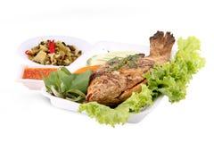 Rewolucjonistki ryba grill zdjęcie stock