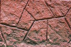 Rewolucjonistki skały ściany tekstura Zdjęcia Stock