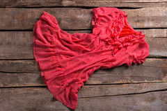 Rewolucjonistki suknia z szyją Zdjęcia Royalty Free