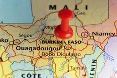 Rewolucjonistki szpilka na Ouagadougou, Burkina Faso Fotografia Royalty Free