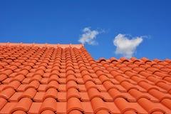 Rewolucjonistki tekstury dachowa płytka Obrazy Royalty Free